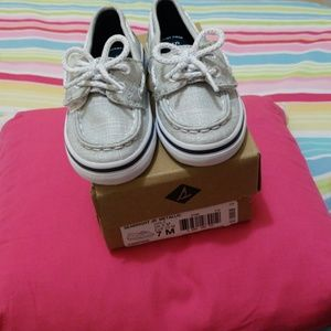 Toddler New  Sperry Shoes